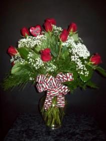 Romantic Roses Rose Arrangement