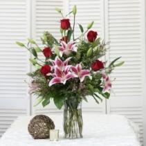 Romantic Stargazing Tall Vase Arrangement