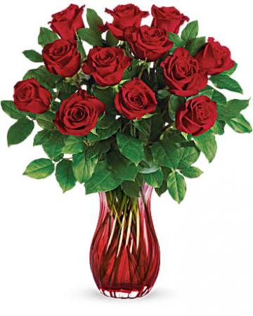 Romantic Twist Bouquet Roses
