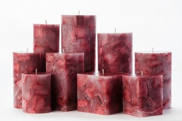 romantic valentine candles