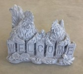 Rooster & Hen Welcome~$40.00