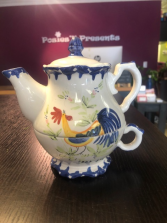 Rooster Tea for One Set Gift Item