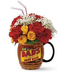 Rootin for Dad Bouquet  Mug Arrangement