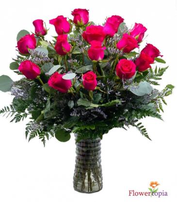 Rosa Fuerte Arreglo Floral