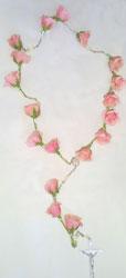 Rosary Casket Flowers