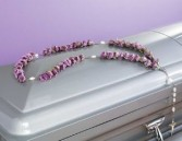 Rosary [RED,WHITE OR PINK] for in or on casket