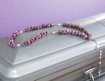 Rosary for in or on casket