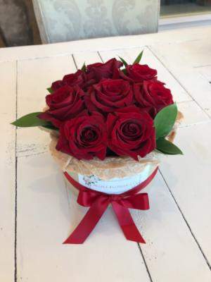 Red Rose Flower Box  in Sparta, NJ | Bluet Flower Co.
