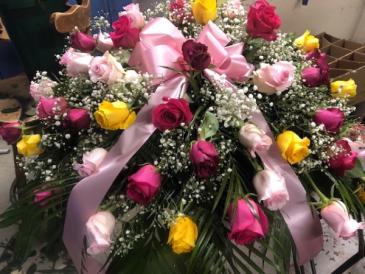 Rose Adoration funeral