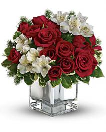 Rose & Alstroemeria Cube