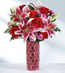 Rose and Lily Love Bouquet Love Arrangement in San Juan, PR | ELIKONIA FLOWERS