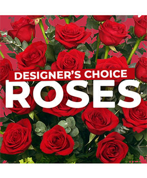 Rose Arrangement Designer's Choice in Dalton, GA | BARRETT'S FLOWER SHOP