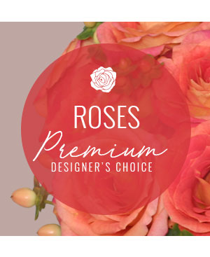 Rose Arrangement Premium Designer's Choice in Chelmsford, MA | A FLORAL MOMENT BY JUJU BUDS