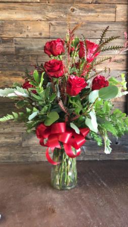 Dozen Red Rose Red Rose