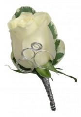 Rose  B16-15 Boutonniere