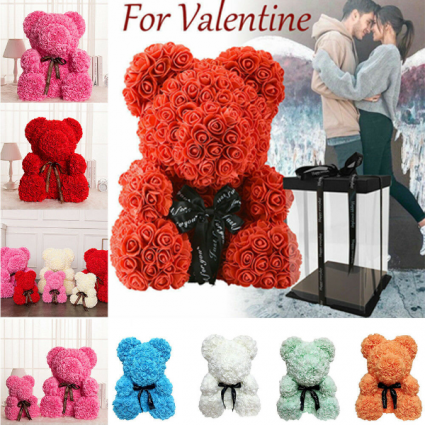 Rose Bears Gifts