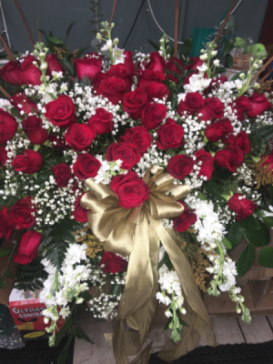 Rose beauty Standing Rose Arrangment in Ozone Park, NY | Heavenly Florist
