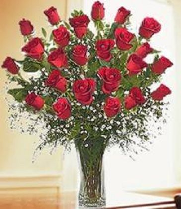 Forever Love Rose Bouquet, 2 Dozen Floral Arrangement
