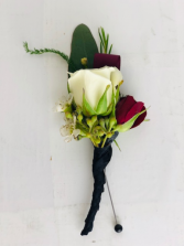 Rose Bout Boutonniere