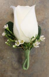 Rose Boutonierre; Choose Rose Color