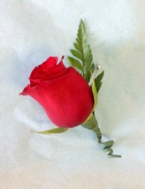 Rose Basic Boutonniere