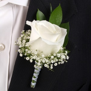 Rose boutonniere weddingprom flowers in lock haven pa rose boutonniere weddingprom flowers junglespirit Images
