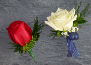 Rose  Boutonnieres in Kensington, CT | BRIERLEY-JOHNSON THE FLORIST