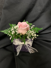 Rose Bowl Cube Arrangement  (*Everyday Best Seller)