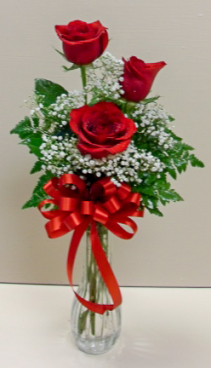 Rose Bud Vase Floral Design