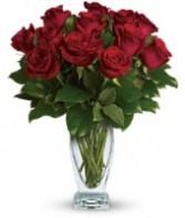 Rose Classique Vase Arrangement