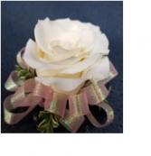 Rose Corsage • Single Lg. Blossom Wrist Corsage