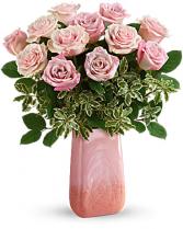 Rose Couture  Vase Arrangement