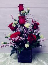 Rose Cube Floral Design