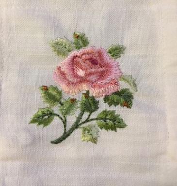 Rose Design Lavender bags