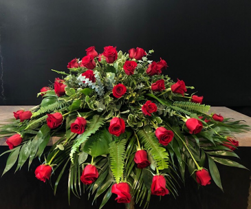 Rose Devotion  Casket