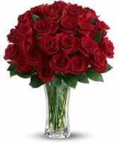 Rose Devotion Rose Arrangement
