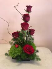 Rose Elegance Centerpiece Roses