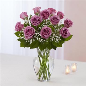 Rose Elegance™ Premium Long Stem Lavender Roses