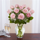Rose Elegance™ Premium Long Stem Pink Roses