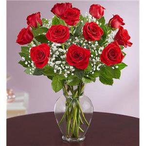 Rose Elegance™ Premium Long Stem Red Roses  in Brooklyn, NY | FLORAL FANTASY