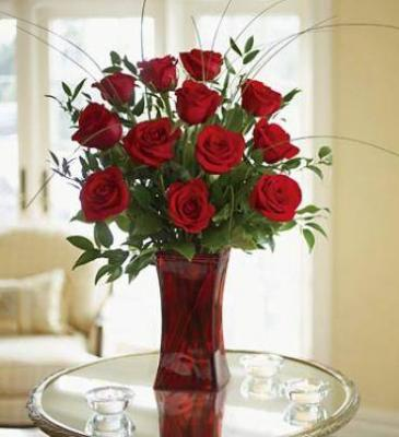 Rose Elegance  Premium Long Stem Red Roses ROSES