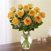 Rose Elegance™ Premium Long Stem Yellow Roses