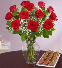 Rose Elegance™ with Strawberries