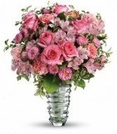 Rose Fantasy Bouquet Vase Arrangement