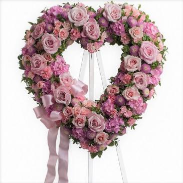 """Rose Garden 18"""" Open Heart T238-2A"""