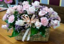 Rose Garden Basket Arrangements