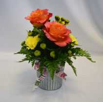ROSE GARDEN BLUSH Flower Arrangement