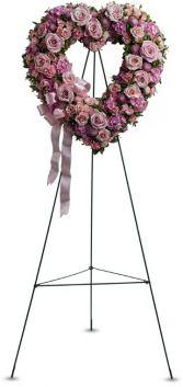 Rose Garden Heart Funeral
