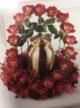 Rose Garden Urn not inculeded