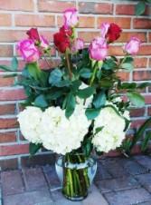 Rose Garden Vase Vase
